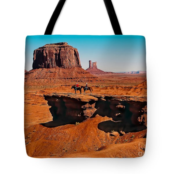 Monumental Valley View Tote Bag