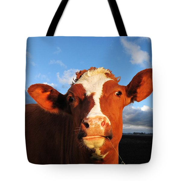 Moo Don't Say Cow Tote Bag