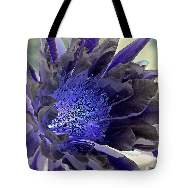 Tote Bag featuring the photograph Moody Blues by Antonia Citrino