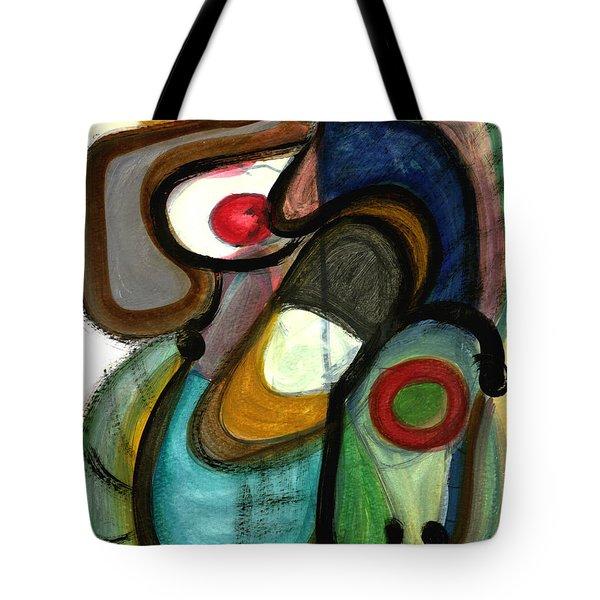 Moody Blues Tote Bag by Stephen Lucas