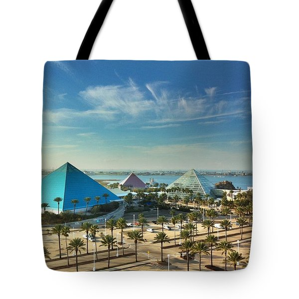 Moody Gardens In Galveston Tote Bag by Tim Stanley