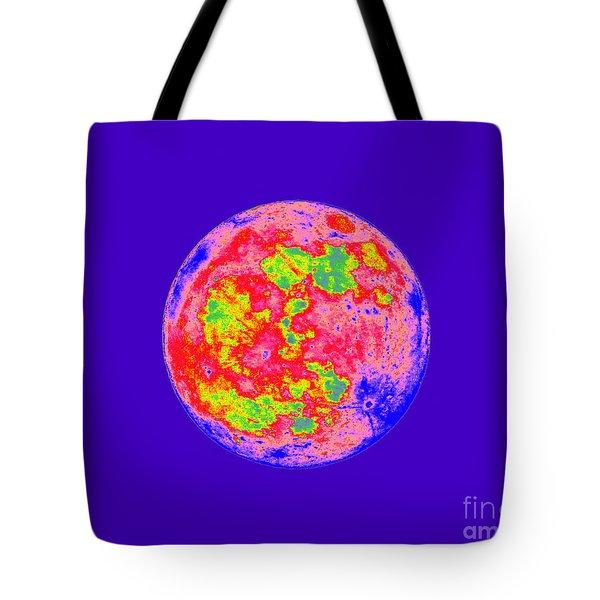 Moody Moon Tote Bag by Al Powell Photography USA