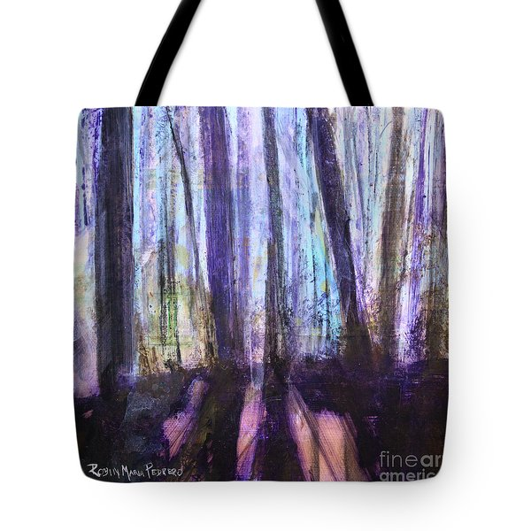 Moody Woods Tote Bag by Robin Maria Pedrero