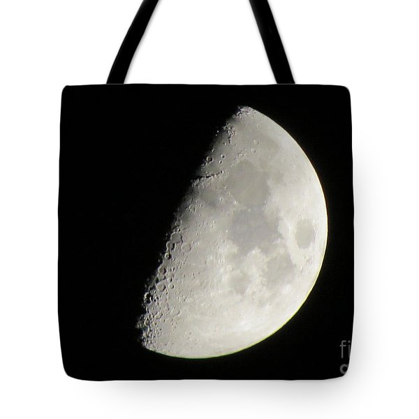 Moon 4 Tote Bag
