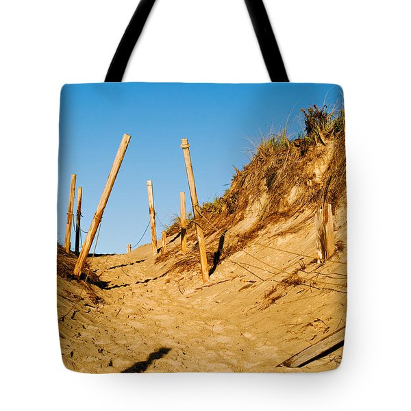 Moon And Dunes Tote Bag