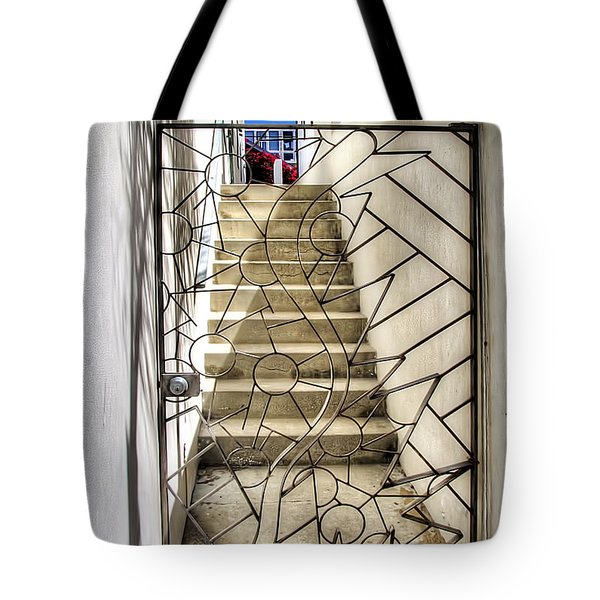 Moon And Gate Tote Bag