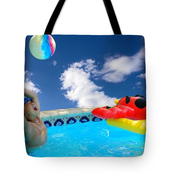 Moon Ball Tote Bag by Roy Williams
