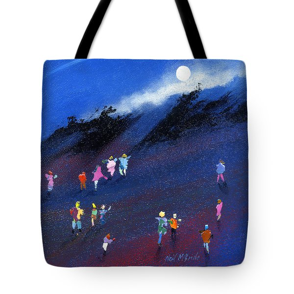 Moon Beam Search Tote Bag by Neil McBride