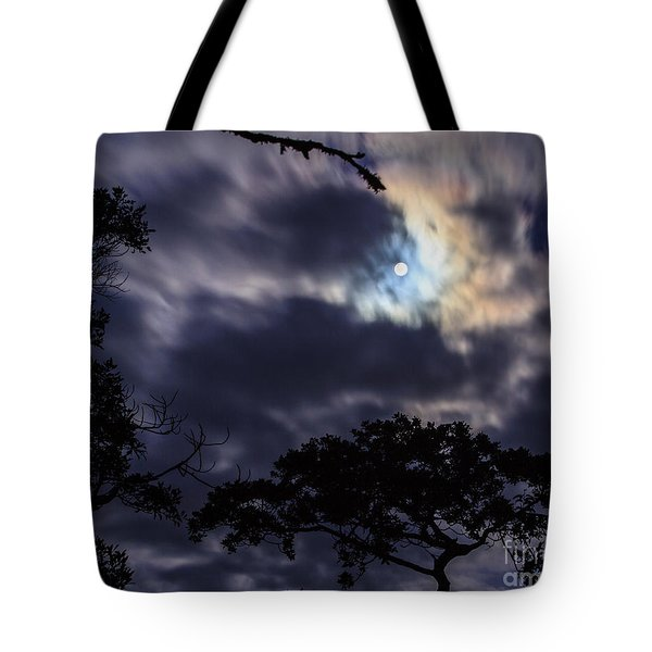 Moon Break Tote Bag by Peta Thames