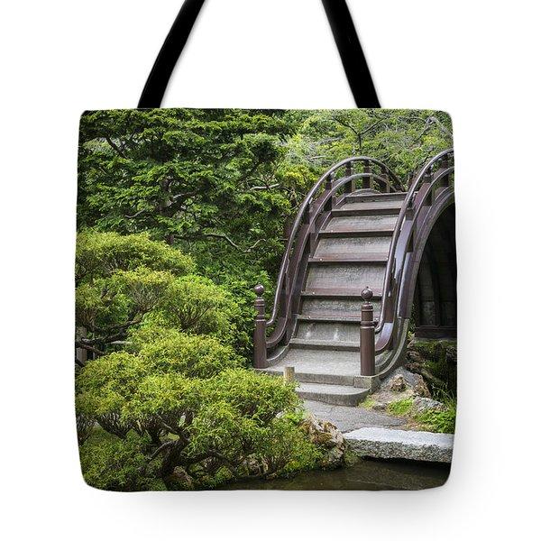 Moon Bridge - Japanese Tea Garden Tote Bag