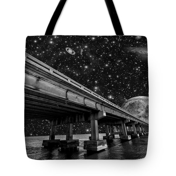 Moon Bridge Tote Bag
