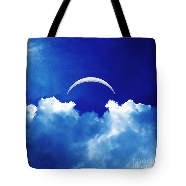 Moon Cloud Tote Bag by Joseph J Stevens