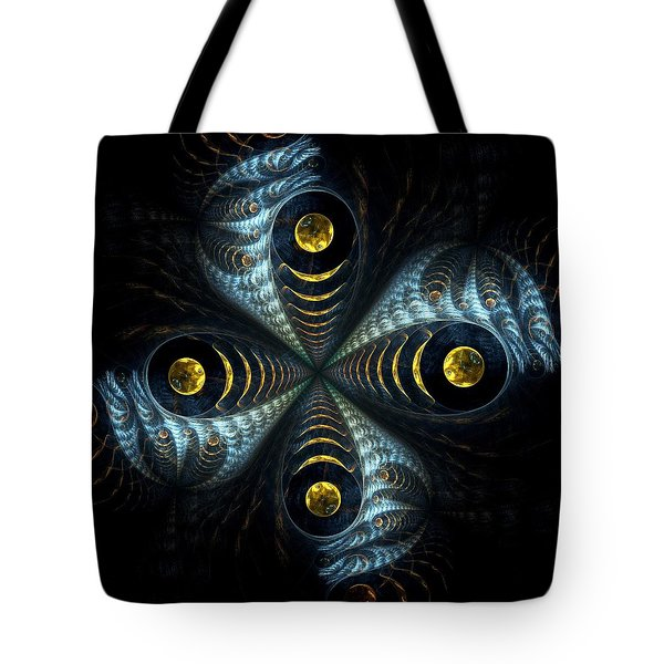 Moon Cross Tote Bag by Anastasiya Malakhova