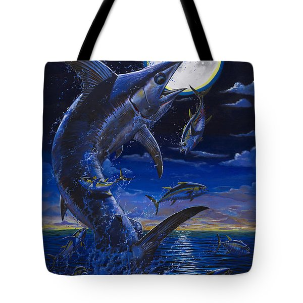 Moon Doggie Off00124 Tote Bag by Carey Chen