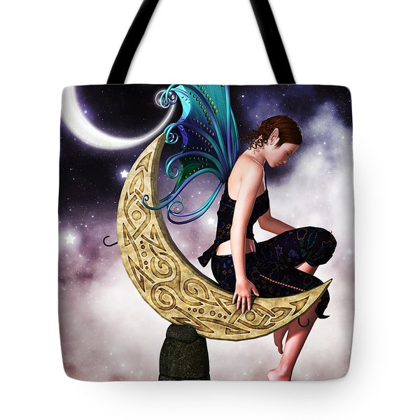 Moon Fairy Tote Bag by Alexander Butler