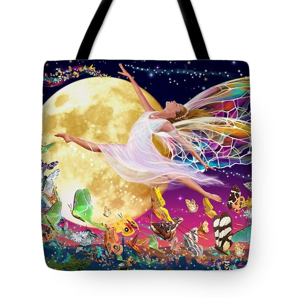 Moon Fairy Variant 1 Tote Bag by Garry Walton