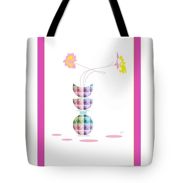 Moon Flower 2 Tote Bag