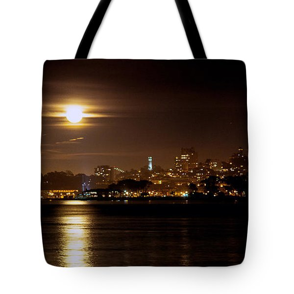 Moon Glow Tote Bag by Steven Reed