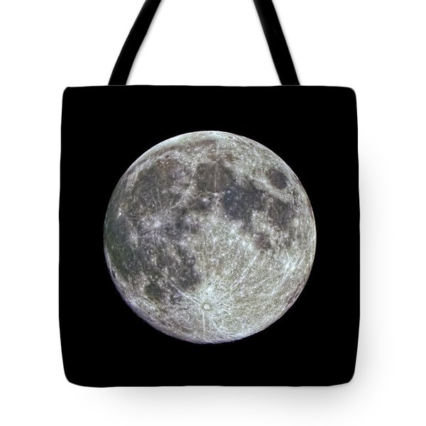 Tote Bag featuring the photograph Moon Hdr by Greg Reed