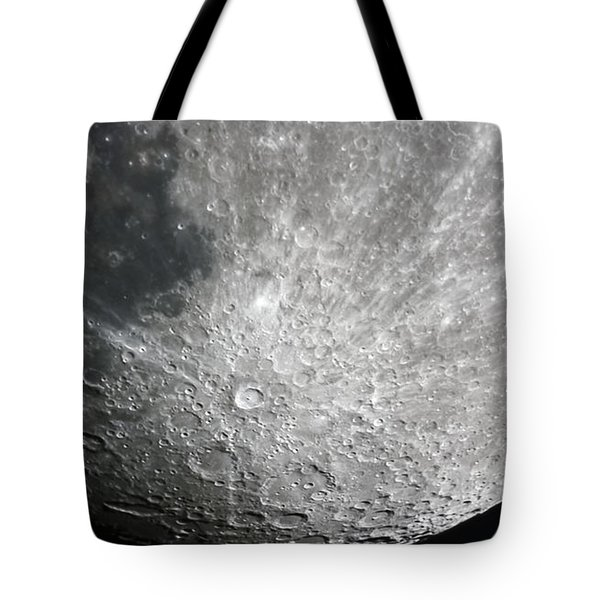 Moon Hi Contrast Tote Bag