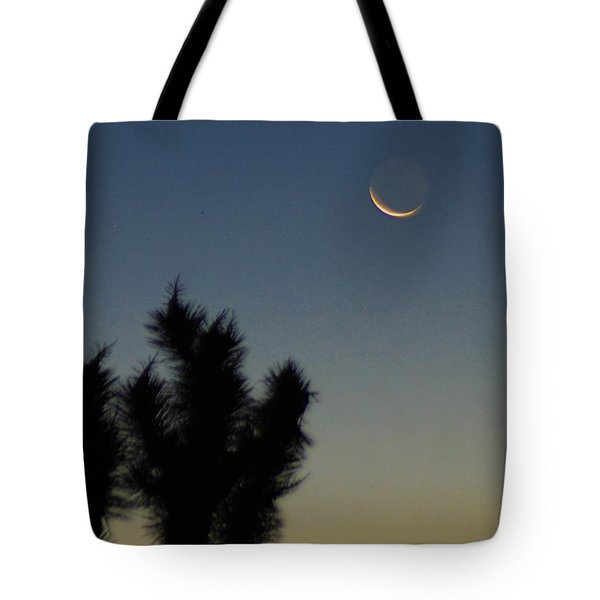 Tote Bag featuring the photograph Moon Kissed by Angela J Wright