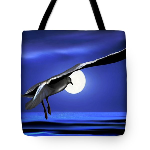 Moon Launch Tote Bag