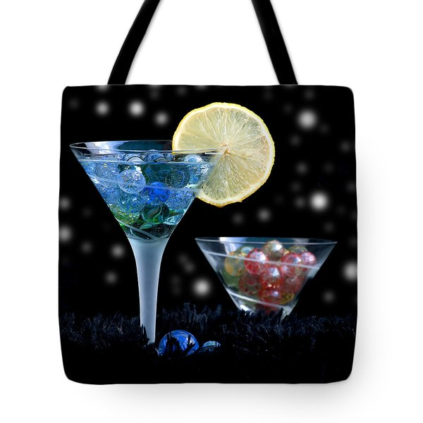 Moon Light Cocktail Lemon Flavour With Stars 1 Tote Bag