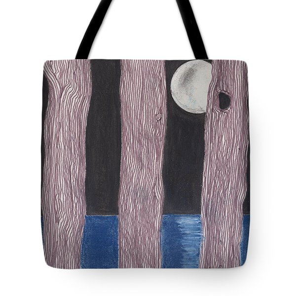 Moon Light Tote Bag by David Jackson