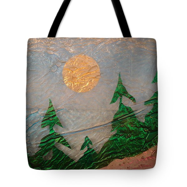 Moon Mist  Tote Bag by Rick Silas