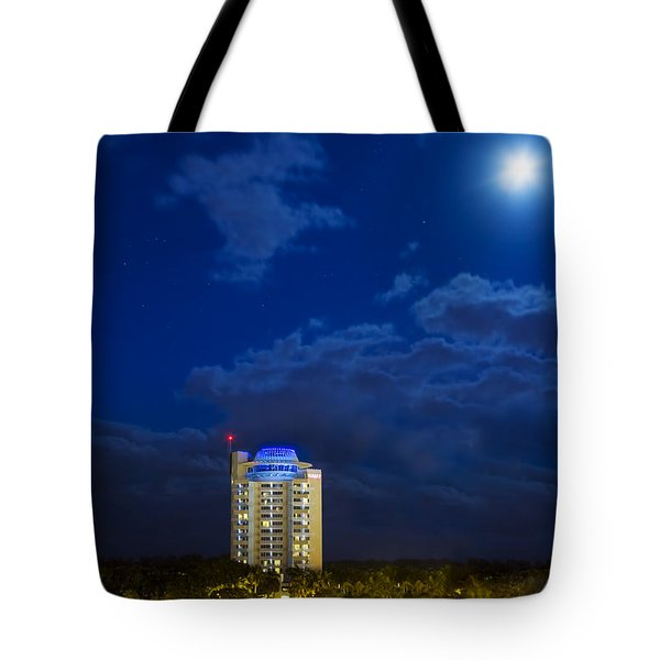 Moon Over Ft. Lauderdale Tote Bag