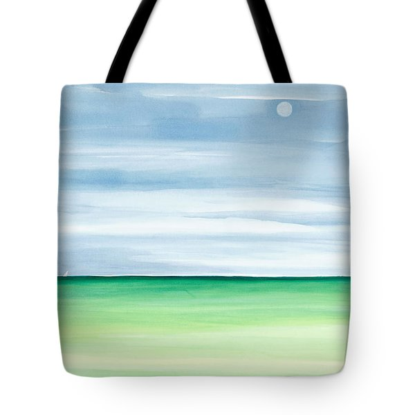 Moon Over Islamorada Tote Bag by Michelle Wiarda
