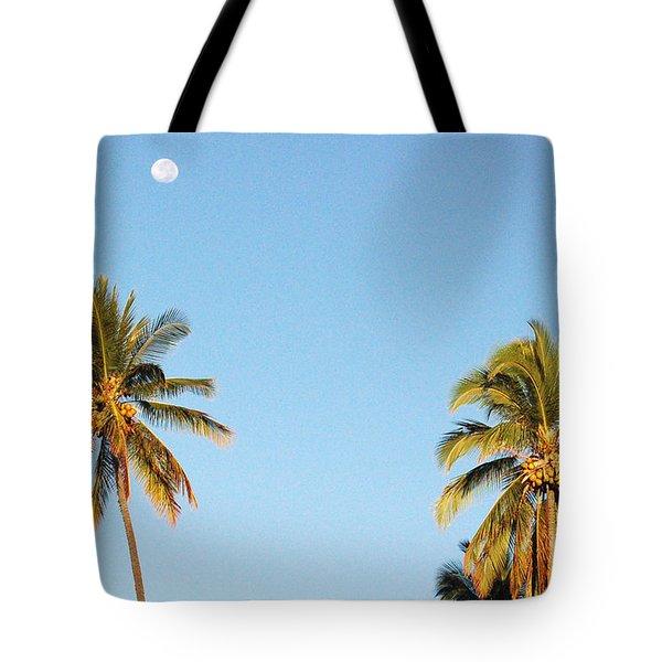 Moon Over Molokai Tote Bag