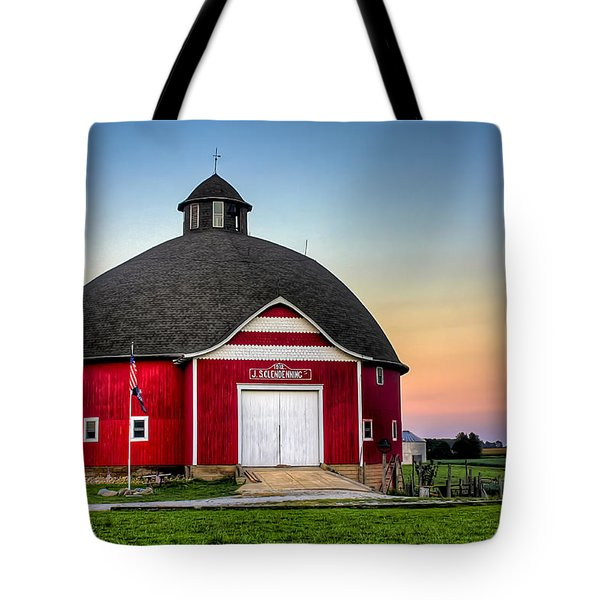 Moon Over Mulberry Tote Bag