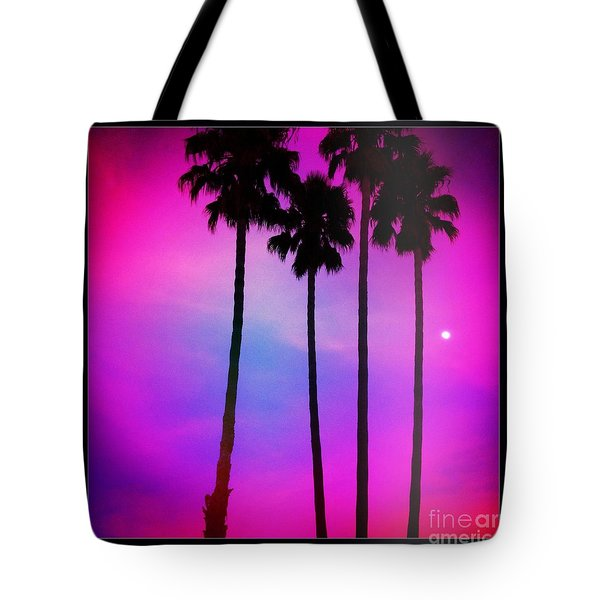 Moon Palms Tote Bag