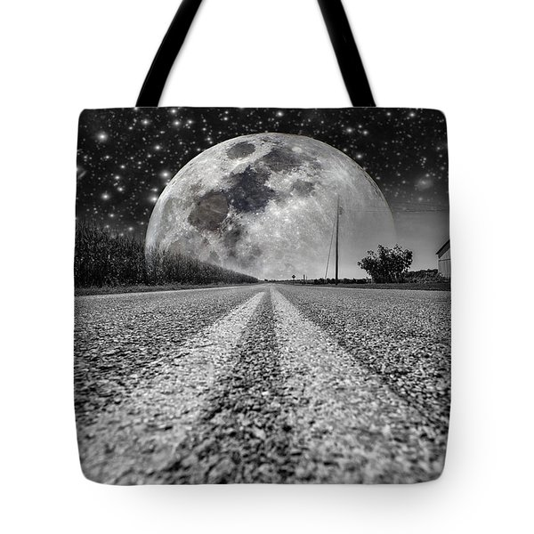 Moon Rise Country  Tote Bag