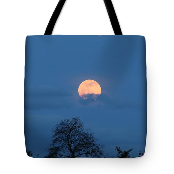 Moon Rising Tote Bag