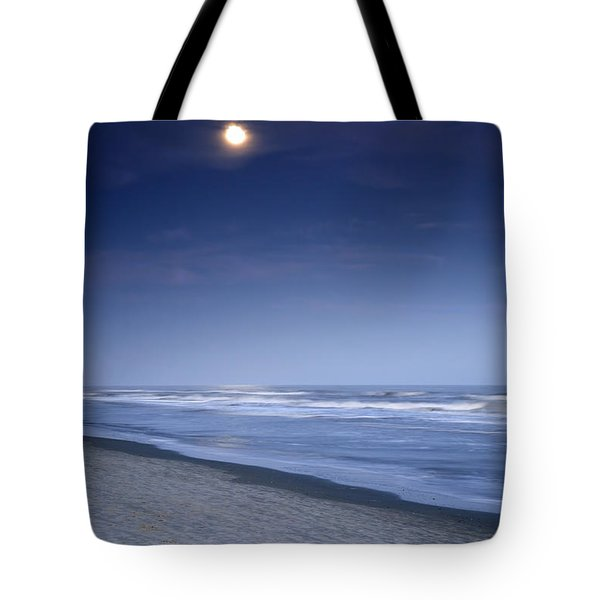 Moon Rising Over Hilton Head Tote Bag by Phill Doherty