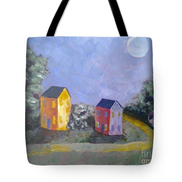 Moon Shadows Tote Bag