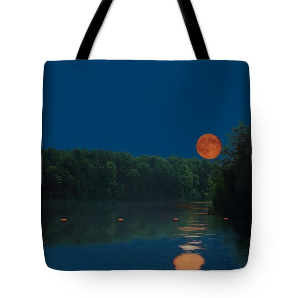 Moon Shot Tote Bag