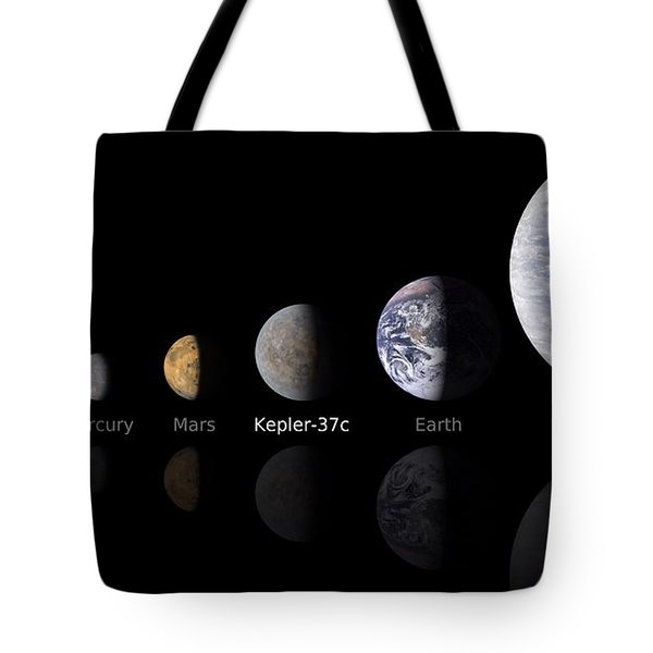 Moon Size Line Up Tote Bag by Movie Poster Prints