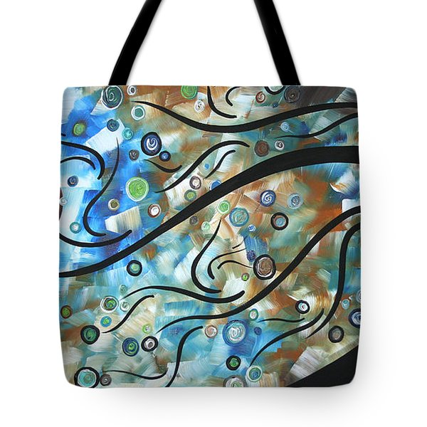 Moon Spell By Madart Tote Bag by Megan Duncanson