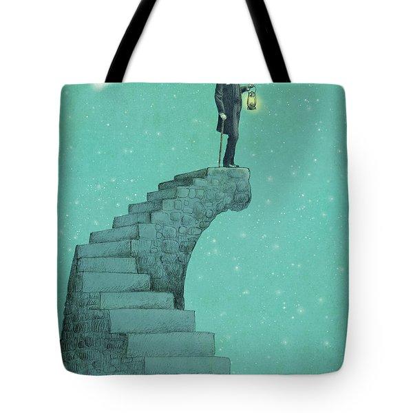 Moon Steps Tote Bag