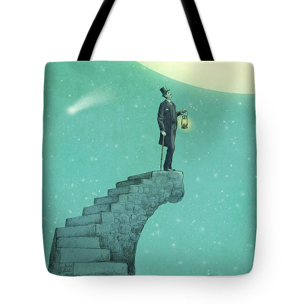 Moon Steps Tote Bag