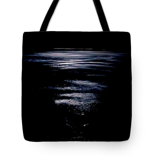 Moon Water Tote Bag by Britt Runyon