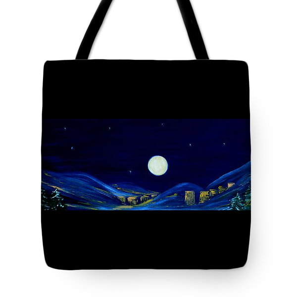 Moonlight 2013. Inspirations Collection Tote Bag by Oksana Semenchenko