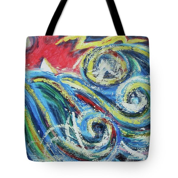 Moonlight And Chaos Tote Bag