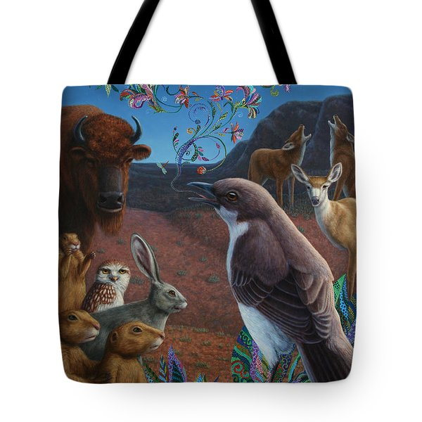Moonlight Cantata Tote Bag