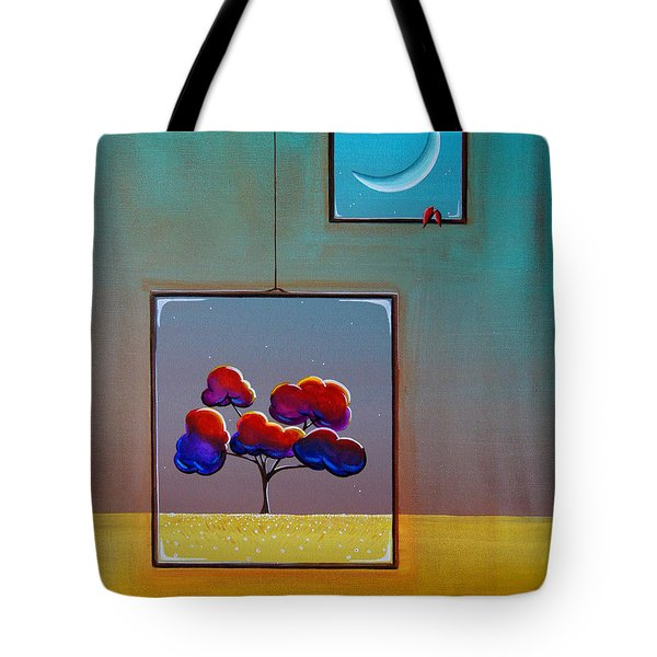 Moonlight Tote Bag by Cindy Thornton