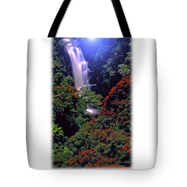Moonlight Falls Tote Bag