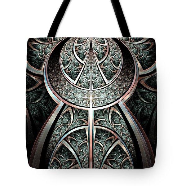 Moonlight Gates Tote Bag by Anastasiya Malakhova